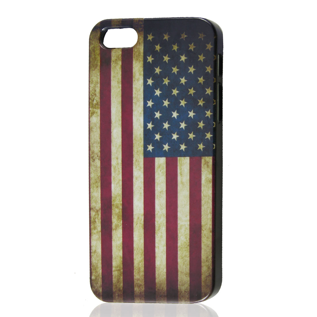 Vintage Style United States US National Flag Pattern Hard Case Cover for iPhone 5 5G