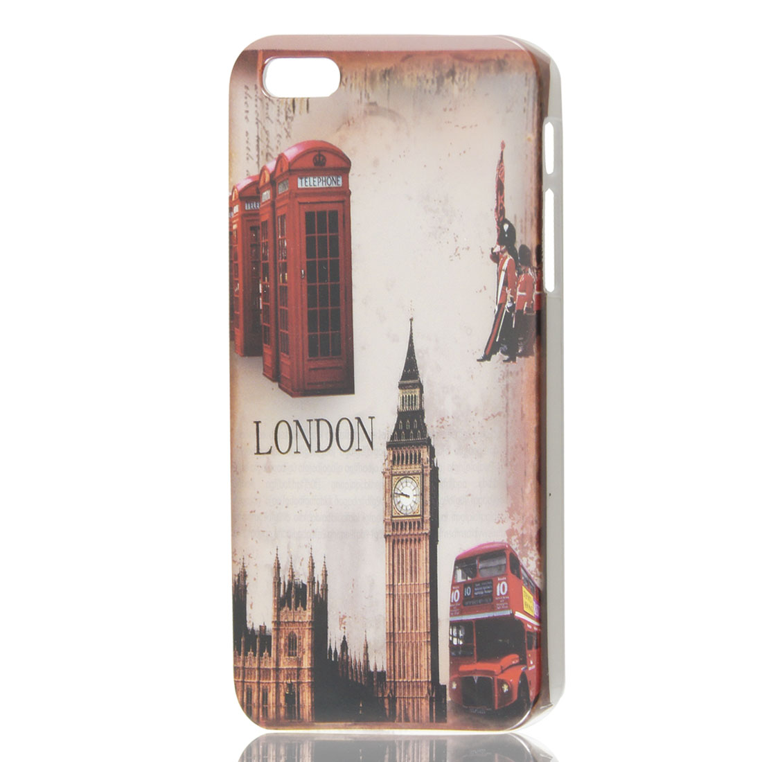 Vintage Style London Big Ben Tower Pattern Hard Case Cover Skin for iPhone 5 5G