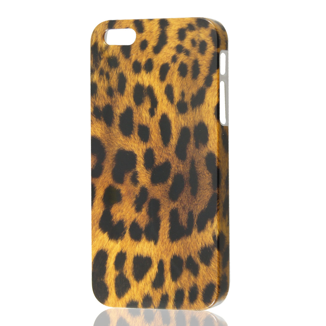 Brown Leopard Pattern Hard Back Skin Case Cover for iPhone 5 5G