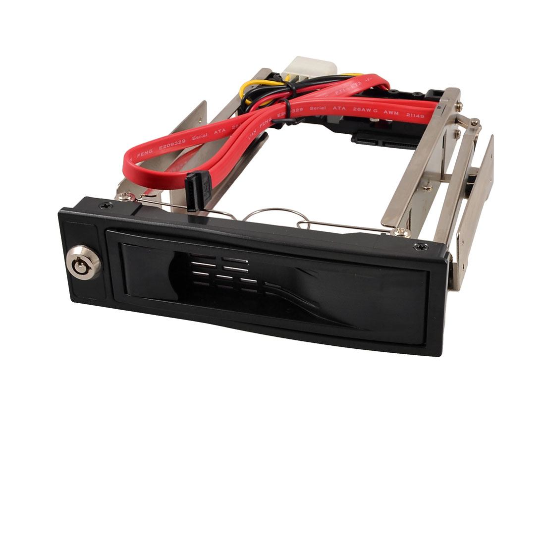 "Hot Swap 3.5"" SATA HDD Rom Hard Drive Disk Aulminum Mobile Rack"