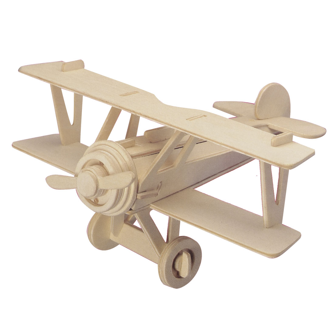 Self Assembly Wooden Nieuport 17 Model 3D Puzzle Woodcraft Construction Kit