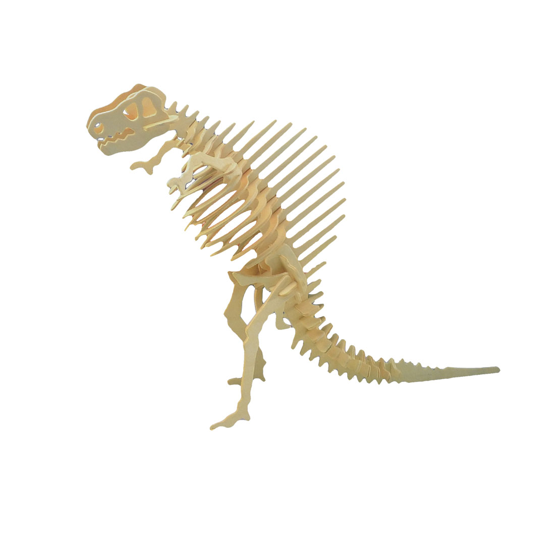 3D Woodcraft Construction Kit Wooden Spinosaurus Design Educational Assembling Toy