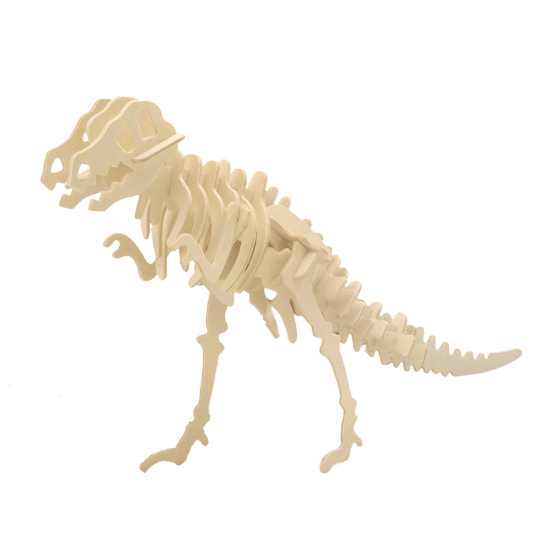 3D Wood Tyrannosaurus Woodcraft Construction Kit Educational Assembling Toy