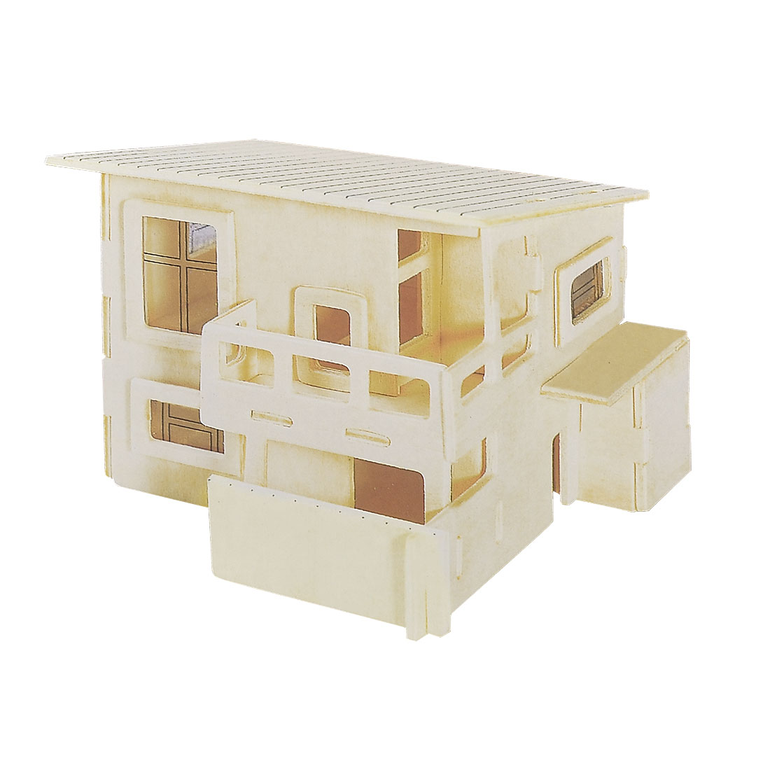 Wateitaku House Design Model 3D Puzzle Toy Gift Woodcraft Construction Kit
