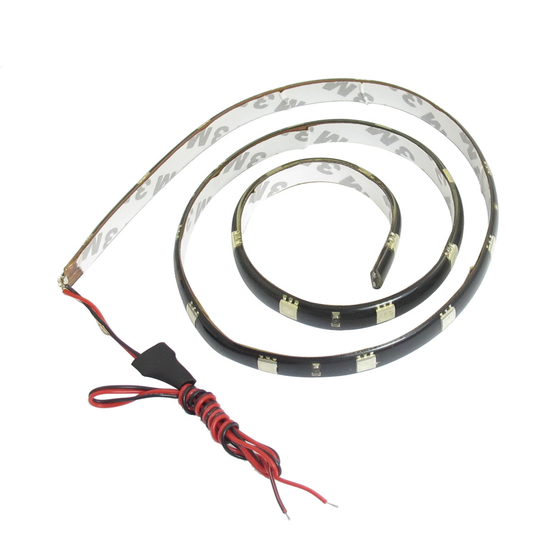 60cm Length 5050 SMD Colorful LED Flexible Bar Strip for Auto Car