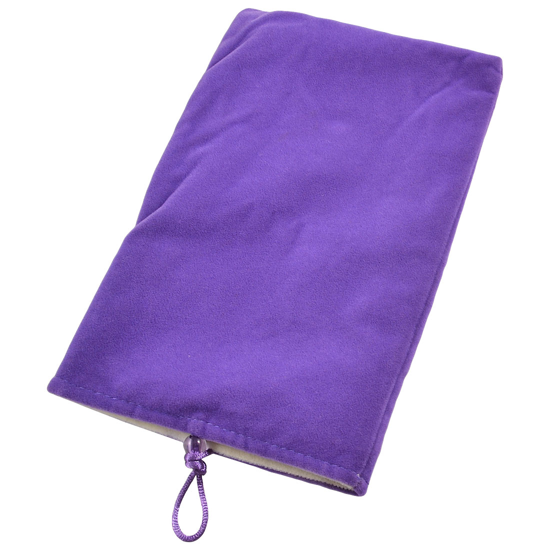 "Bead Button Closure 7"" Tablet PC MID GPS Pouch Case Sleeve Bag Purple"