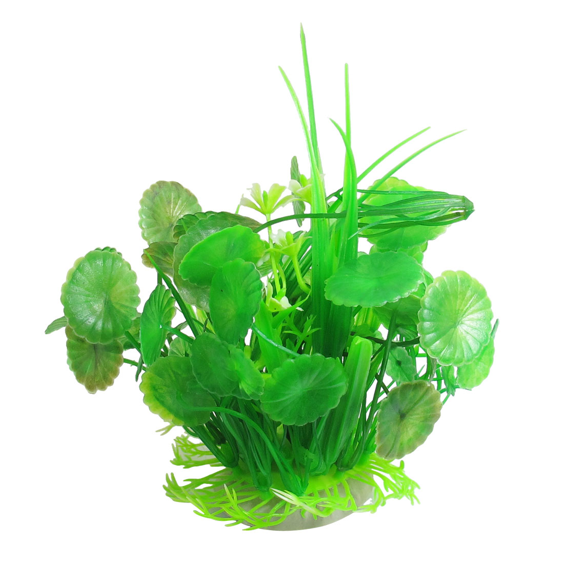"Aquarium Green Manmade Water Grass Plants Decoration 6.3"" Height"