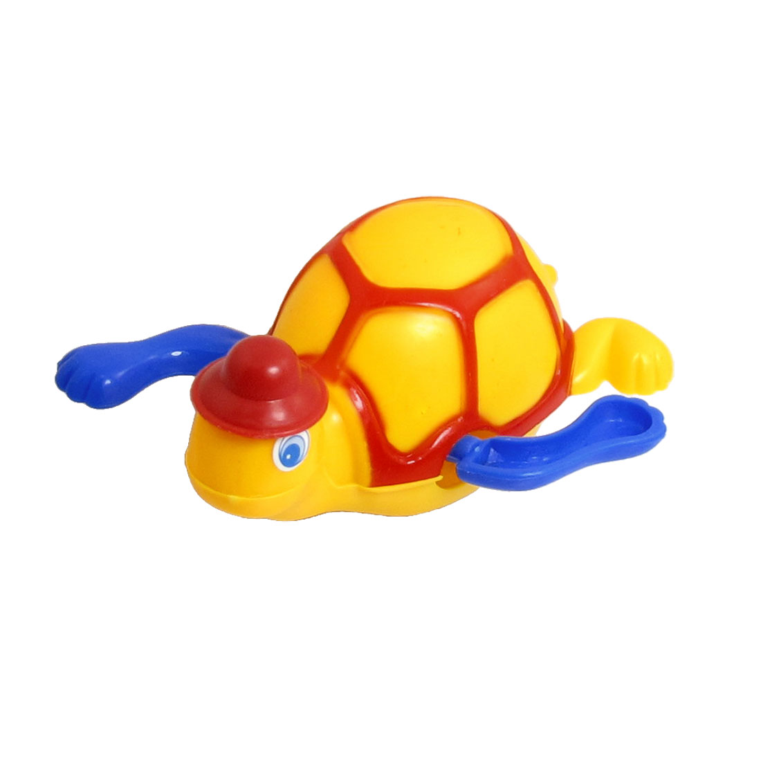 Yellow Red Blue Plastic Running Sea Turtle Wind up Toy for Children