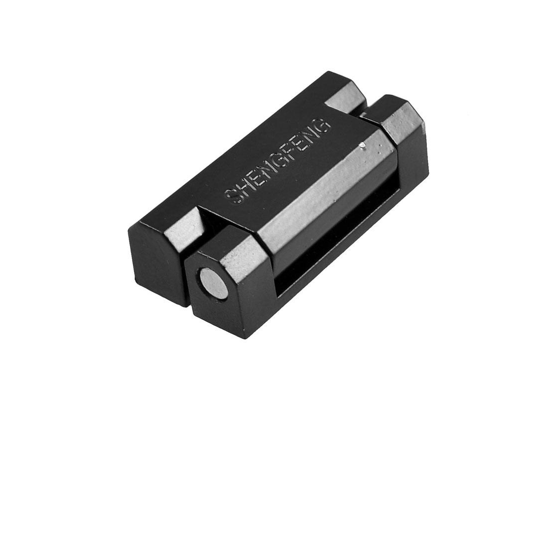 CL735 Black Zinc Alloy 180 Degree Rotation Cabinet Door Hinge