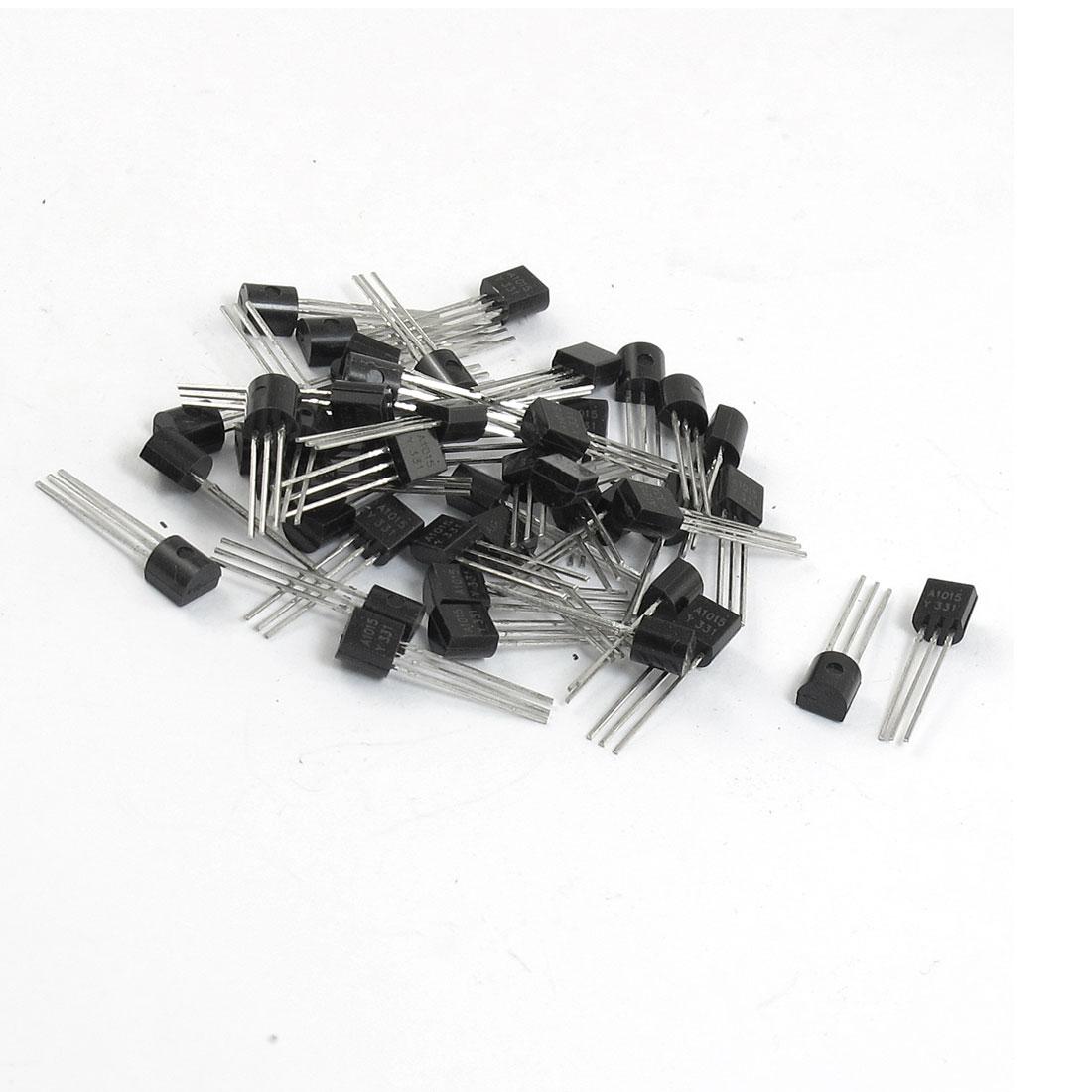 50 Pcs TO-92 Plastic Encapsulat PNP Transistors A1015