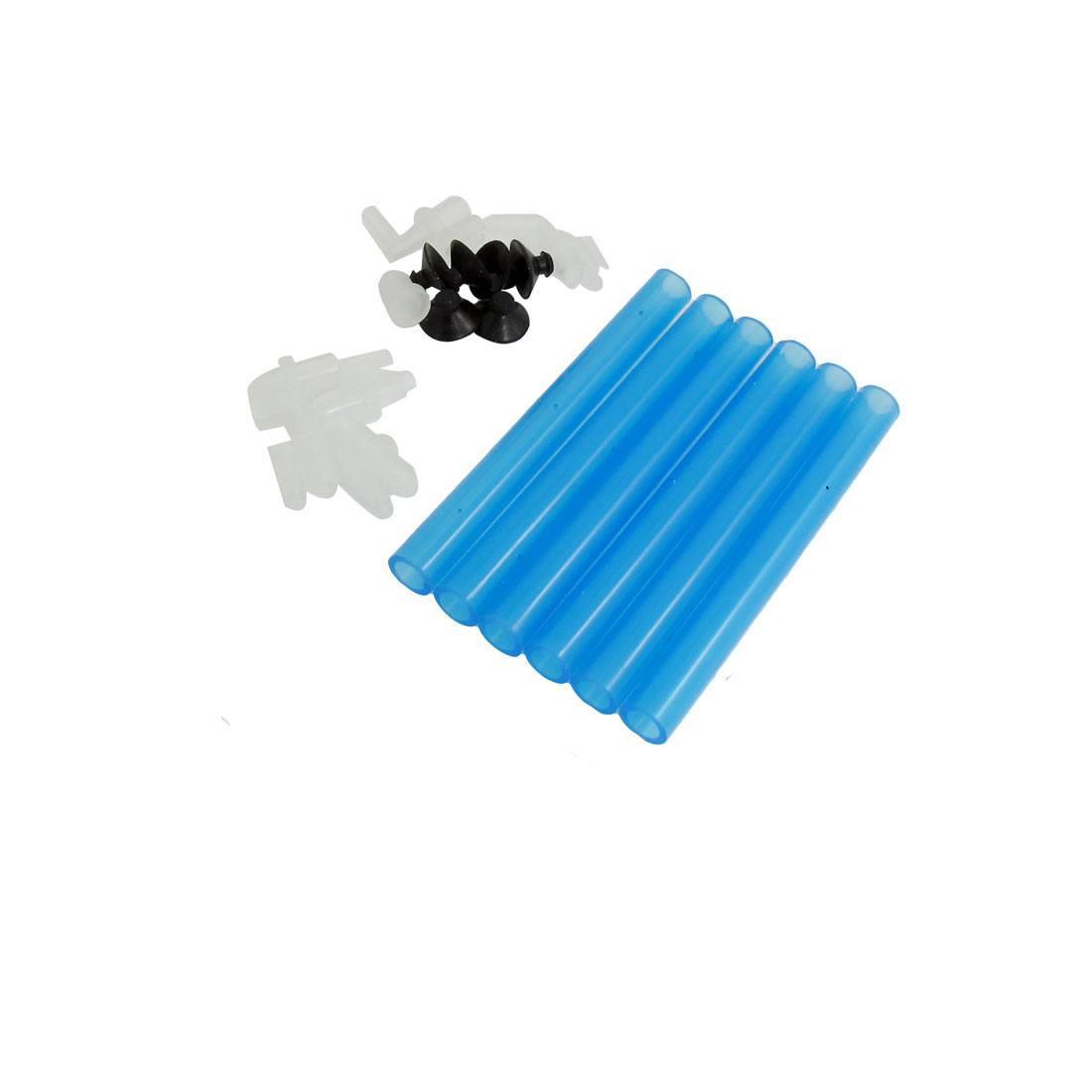 Aquarium Air Curtain Bubble Release Bar Diffuser Set Black Blue White