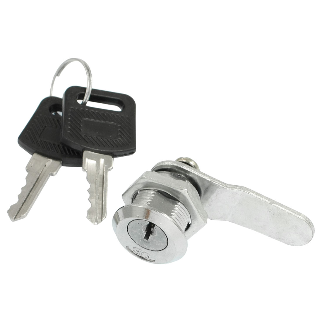 Electric Cabinet Drawer Quarter Turn Cam Lock w 2 Pcs Keys