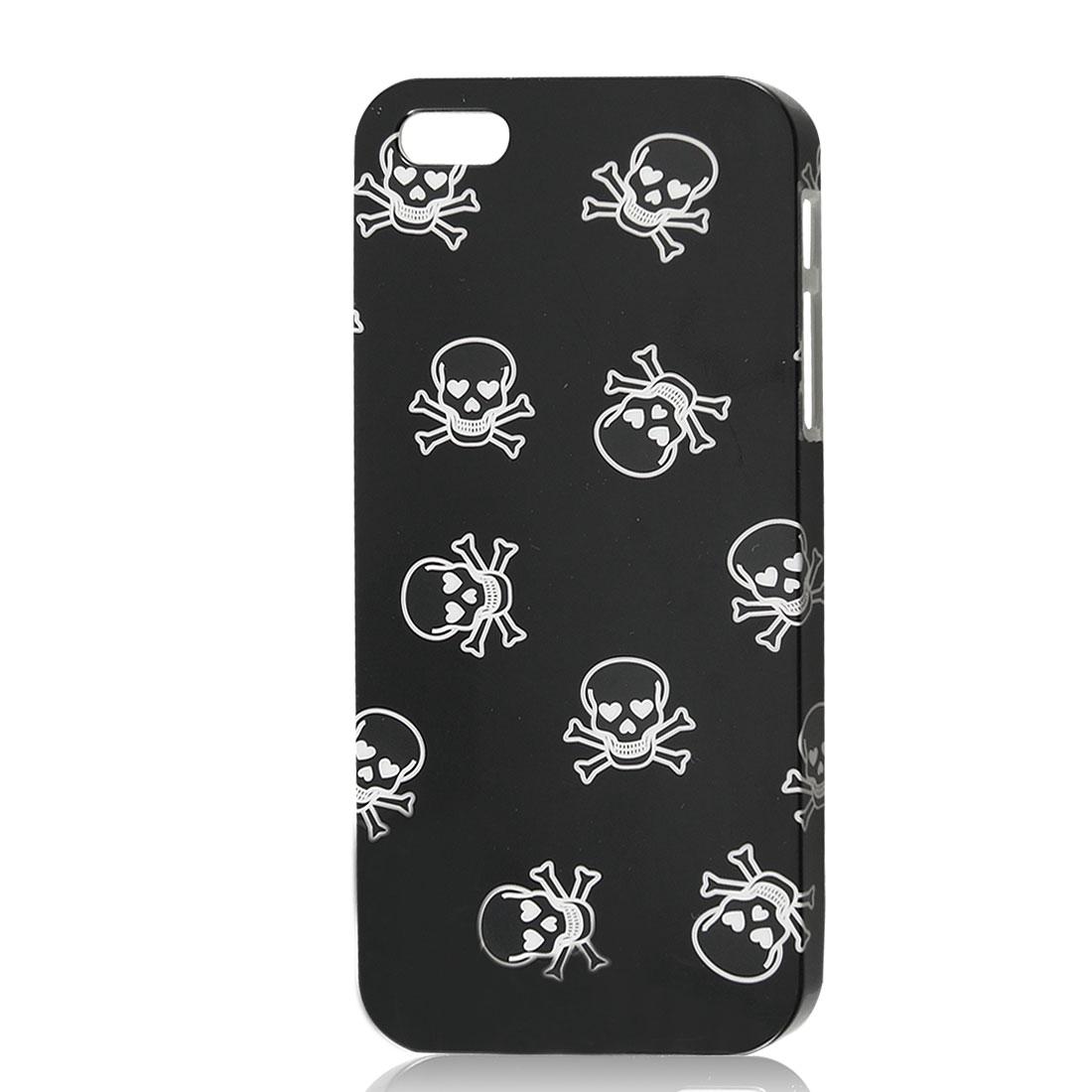 Skull Cross Bone Black IMD Hard Back Case Cover for iPhone 5 5G