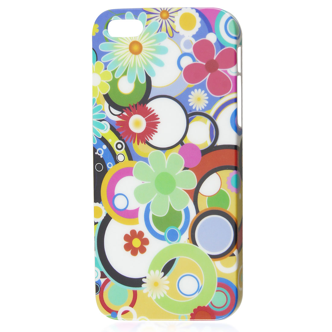 Colorful Sun Flowers IMD Hard Back Case Skin Cover for Apple iPhone 5 5G