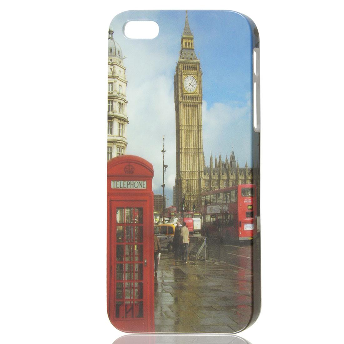 Vintage Style London Big Ben Design IMD Hard Back Skin Case Cover for iPhone 5 5G