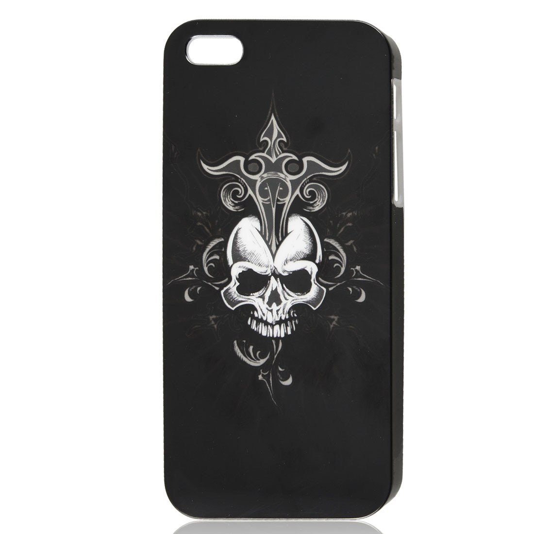Black White Skull Bone IMD Hard Back Case Skin Cover for iPhone 5 5G
