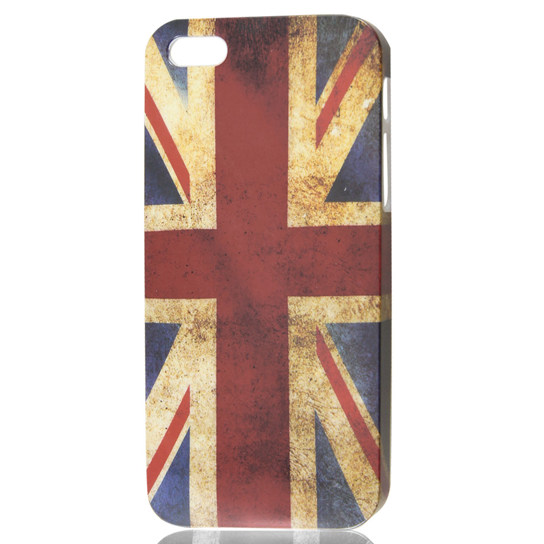 Retro Style Union Jack UK Flag IMD Hard Back Case Cover for Apple iPhone 5 5G