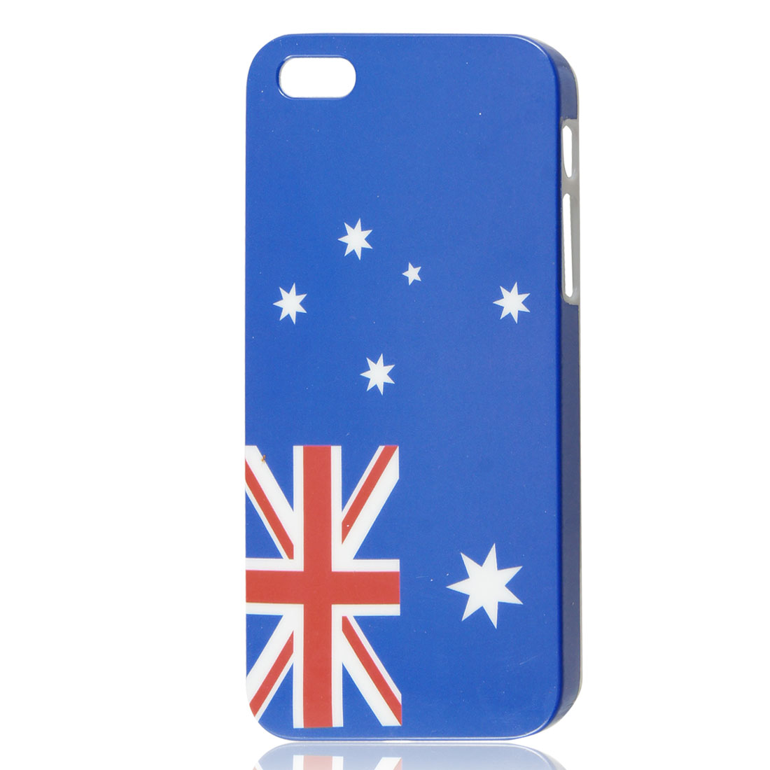 UK British Flag Star Design IMD Hard Back Case Cover for iPhone 5 5G