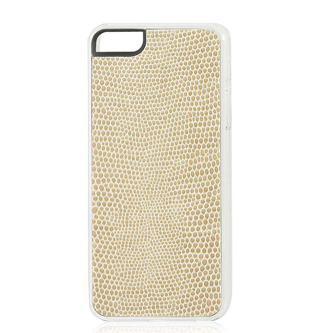 Khaki Snake Pattern Hard Back Case Cover Skin for iPhone 5 5