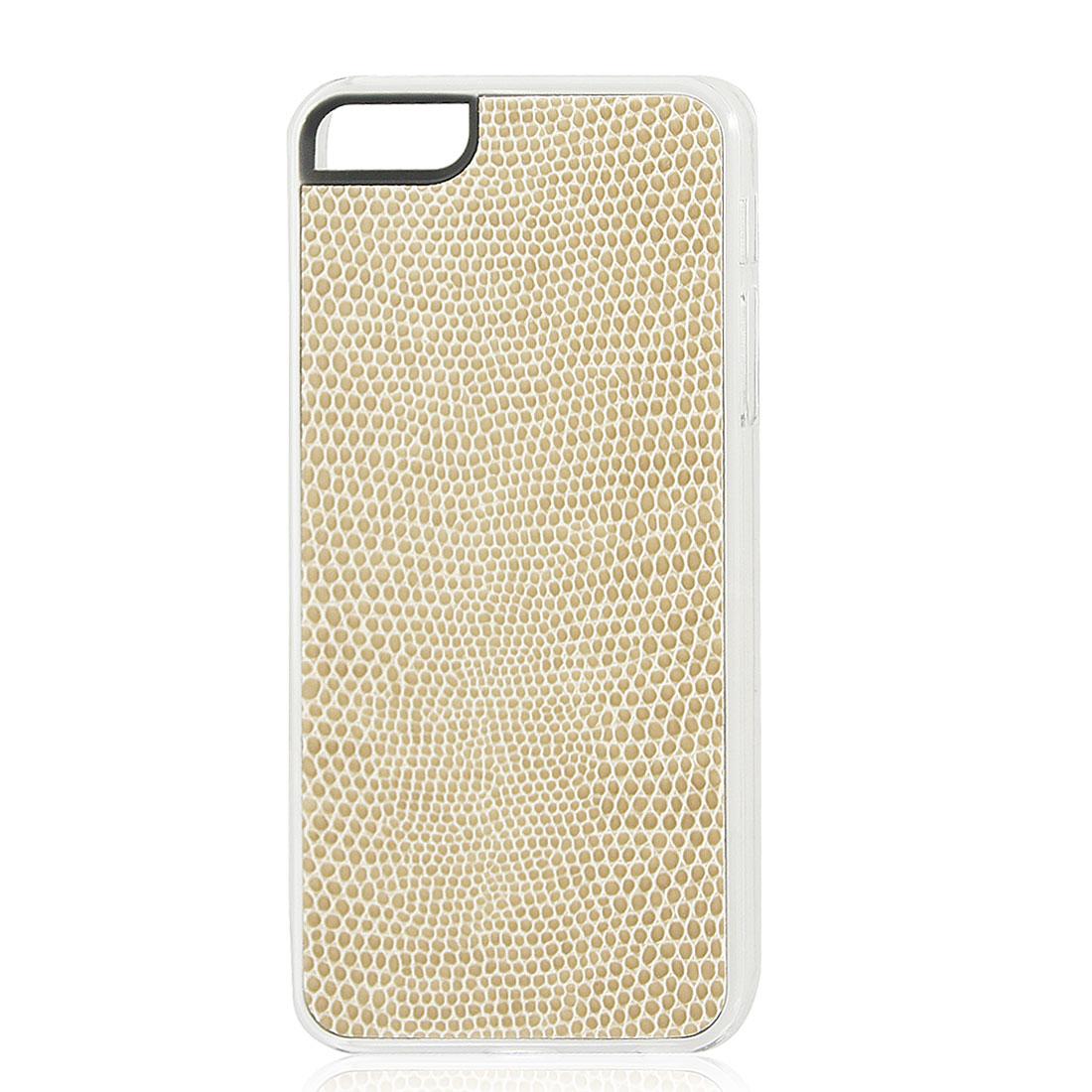 Khaki Snake Pattern Hard Back Case Cover Skin for iPhone 5 5