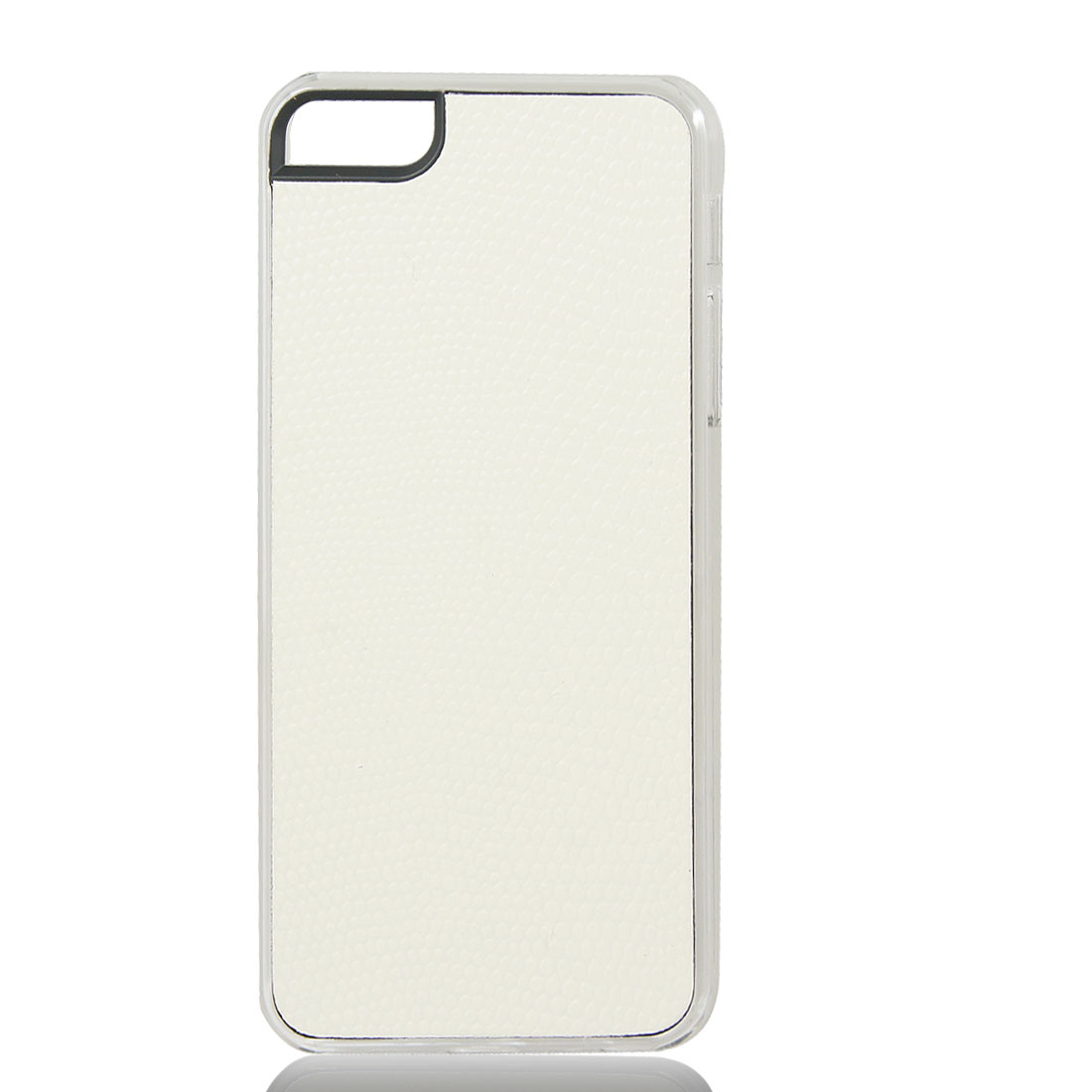 White Snake Pattern Hard Back Case Cover Skin for iPhone 5 5G