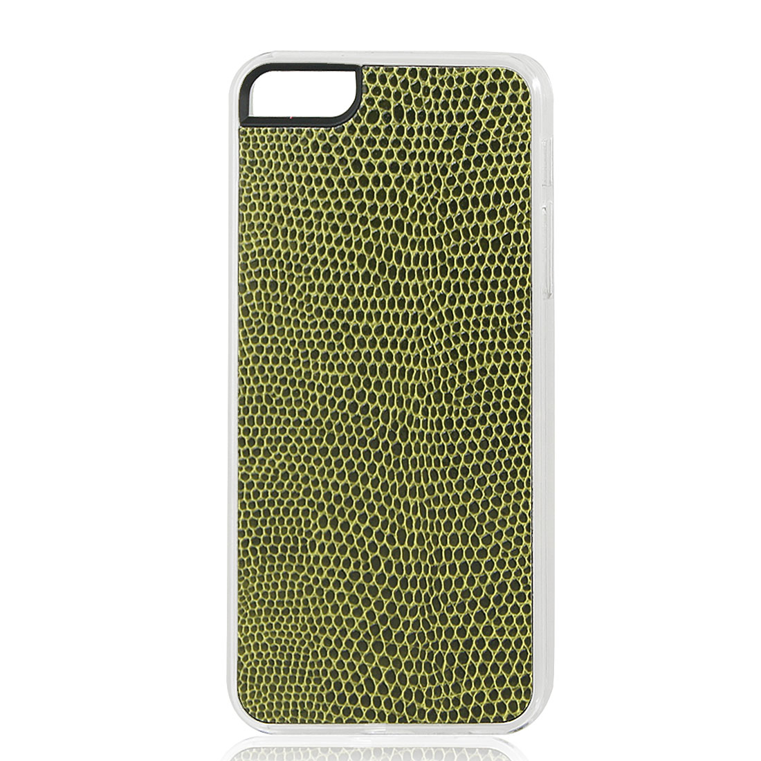 Army Green Snake Pattern Hard Back Case Cover Skin for iPhone 5 5G