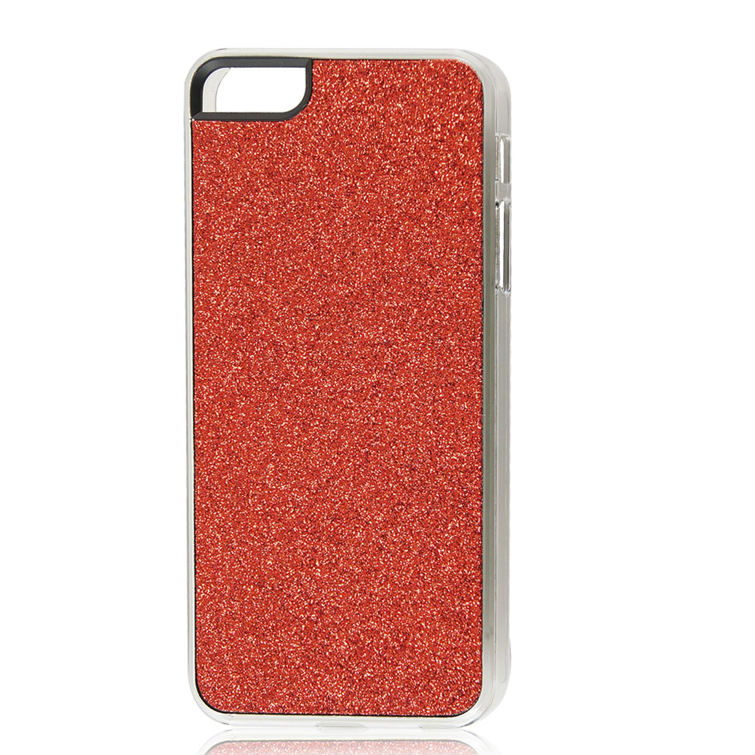 Red Glitter Glittery Sparkly Bling Hard Back Case Cover for iPhone 5 5G
