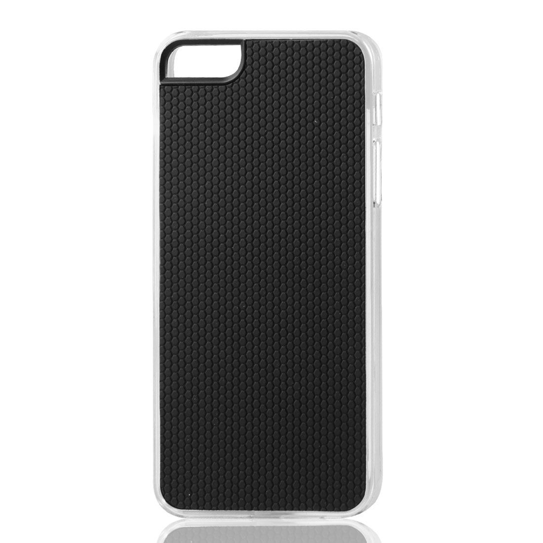 Black Hexagons Pattern Hard Back Case Cover Skin for iPhone 5 5G