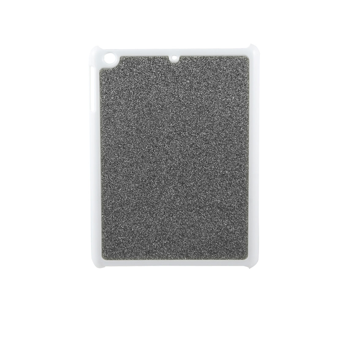 Glitter Sparkling Coated Dark Gray Hard Back Case Cover for Apple iPad Mini