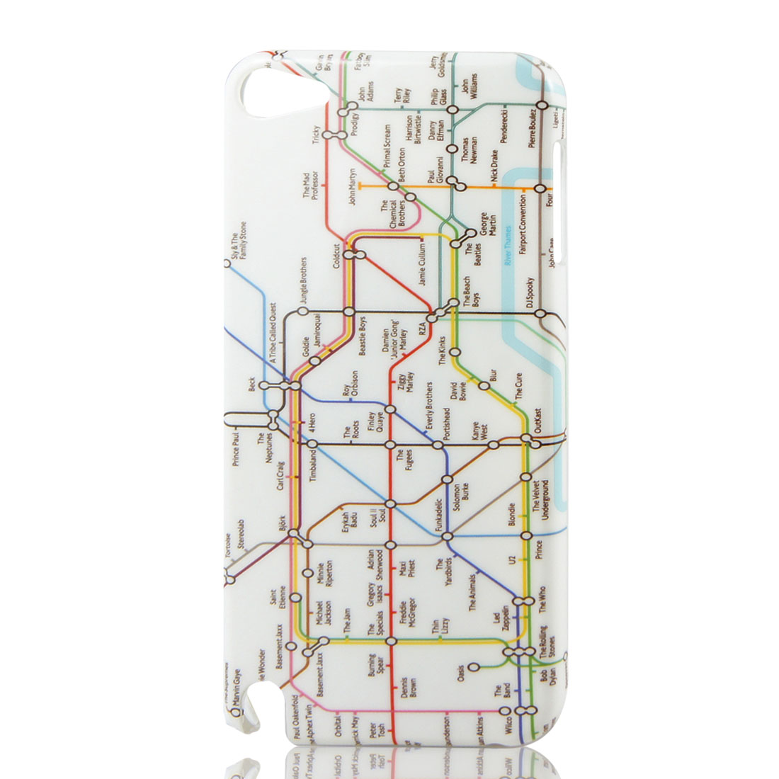 London Tube Map IMD Hard Back Case Cover for Apple iPod Touch 5 5th