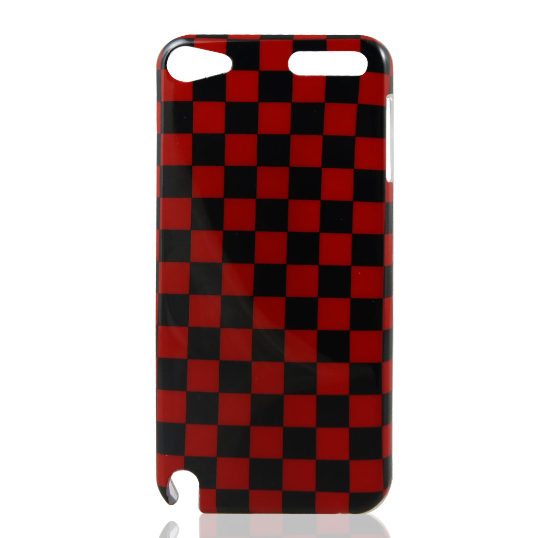 Black Red Plaid IMD Hard Back Case Cover for Apple iPod Touch 5 5th