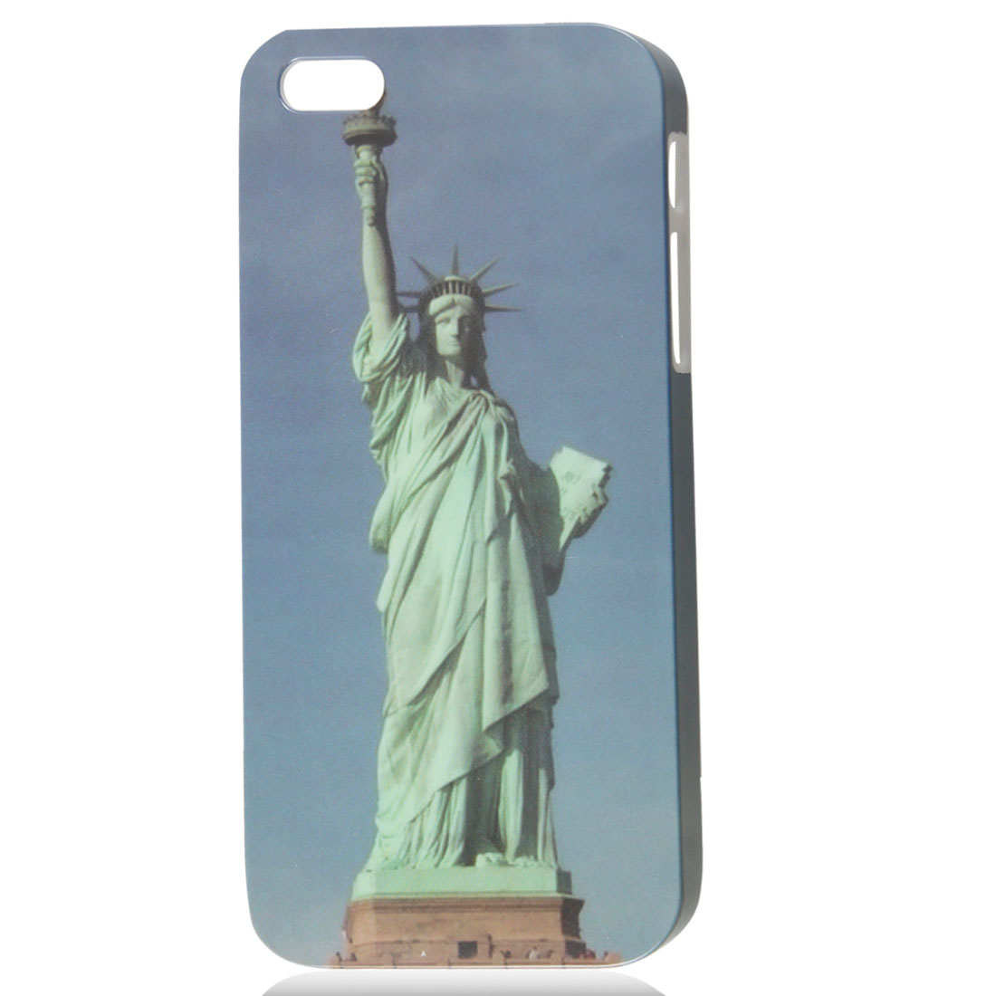 Retro Style Statue of Liberty IMD Hard Back Case Cover Skin for iPhone 5 5G