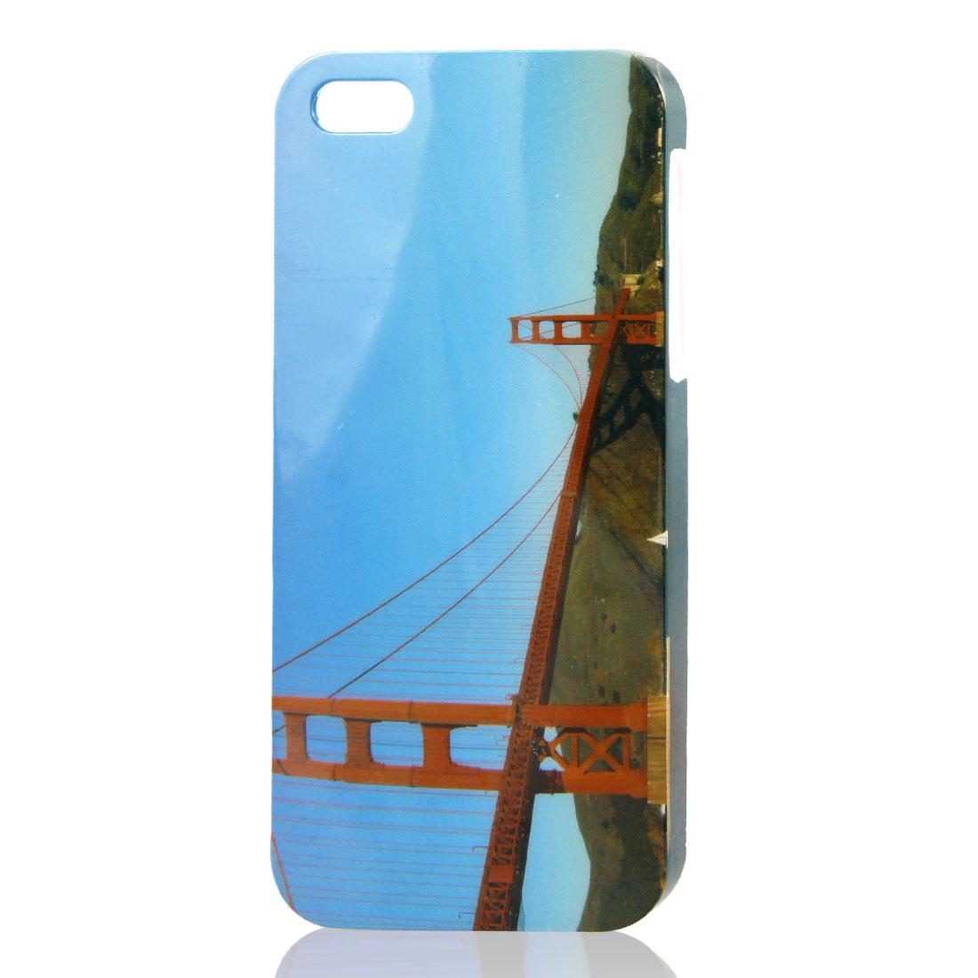 Golden Gate Bridge Design IMD Hard Back Case Cover for iPhone 5 5G