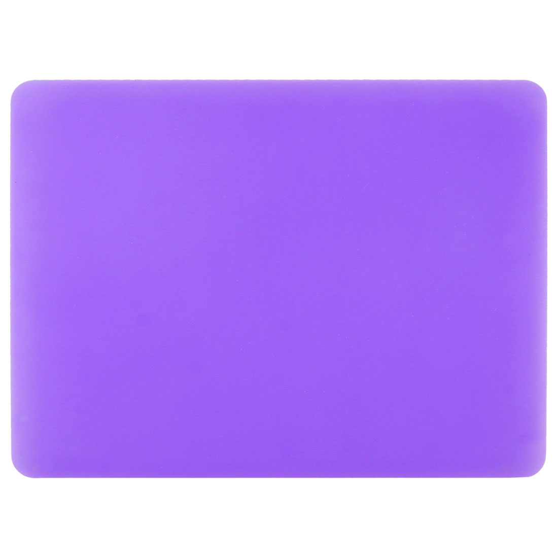 "9"" x 7.5"" Rectangle Nonslip Soft Silicone Purple Mouse Pad for PC Computer"