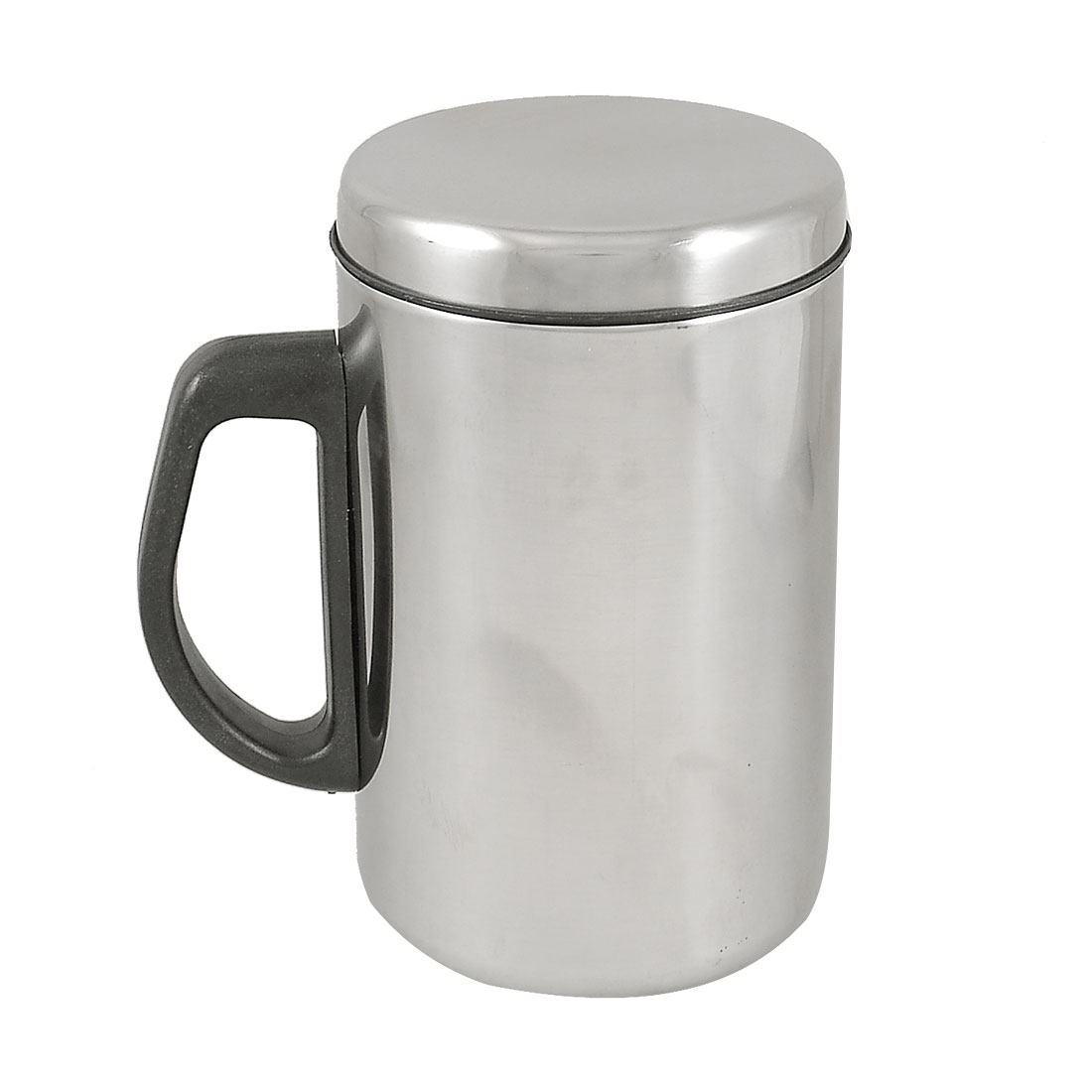 Silver Tone Warm Keeping Drink Stainless Steel Tea Cup Thermal Container 500ml