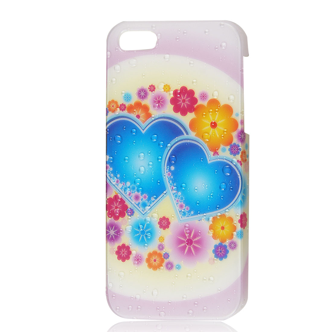 Flower Heart 3D Water Drop Raindrop Hard Back Case Skin Cover for iPhone 5 5G