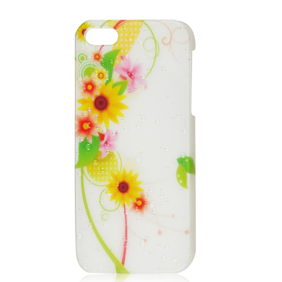 Sunflower 3D Water Drop Droplet Hard Back Case Skin Cover for iPhone 5 5G