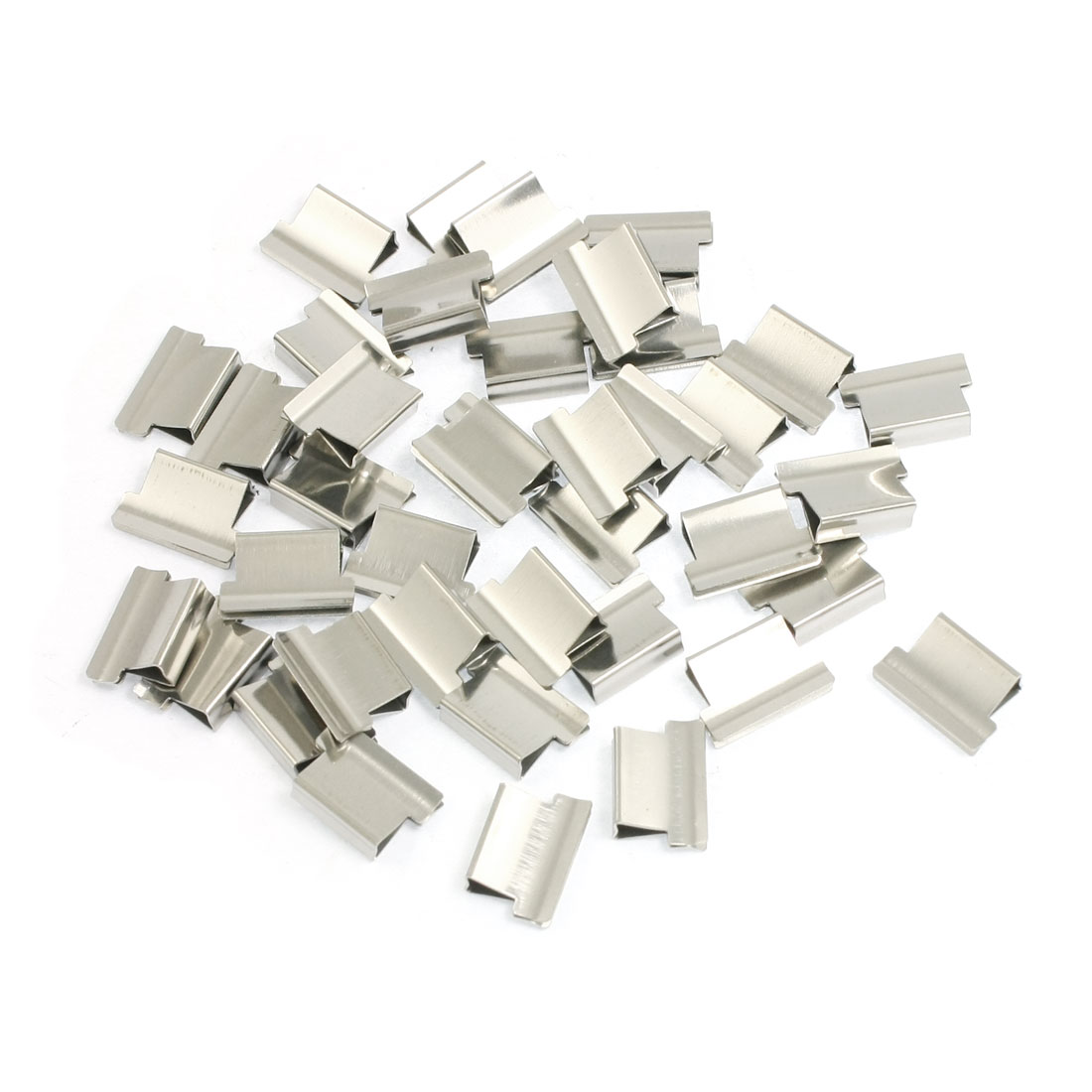 Office Stationery Clam Clip Dispenser Metal Refill 40 Pcs