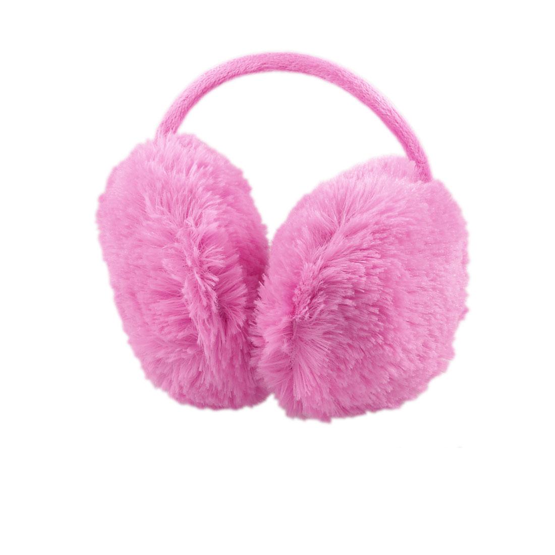 Lady Fuchsia Pure Plush Comfy Warmer Back Ear Cover Muffs Earmuffs