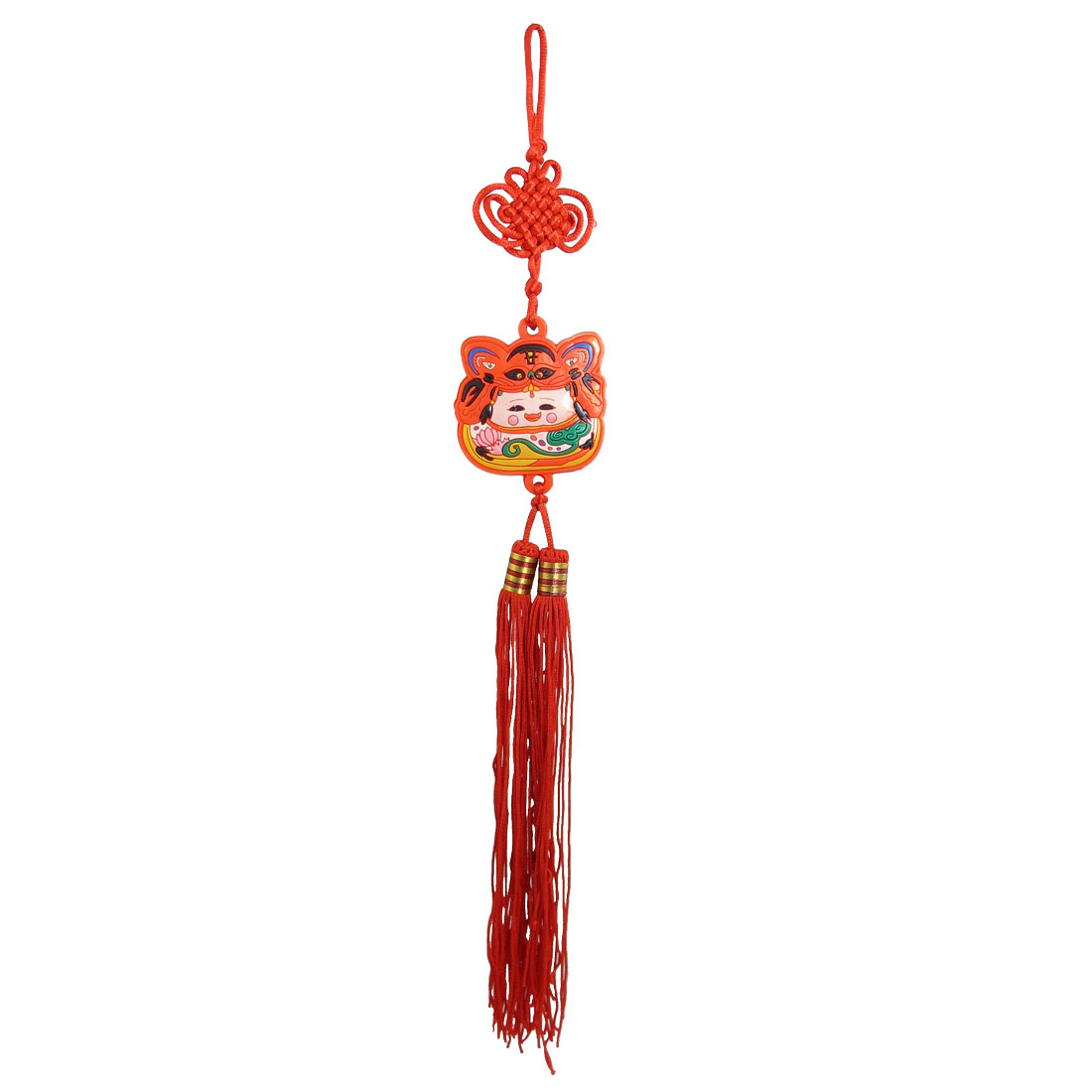 Vehicle Decor Chinese Traditional Girl Pendant Chinese Knot Ornament Hanging