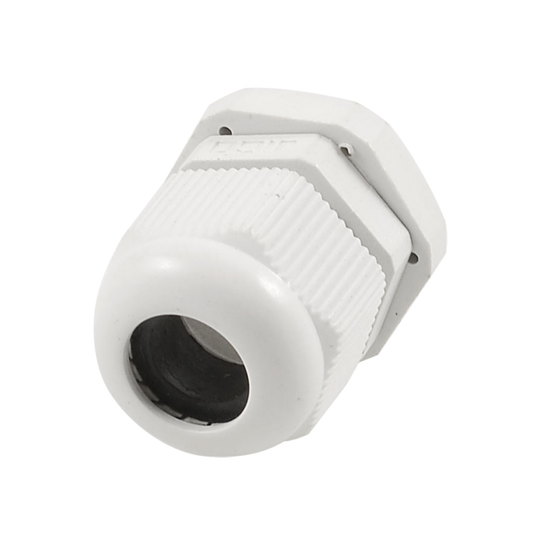 PG13.5 White Plastic 9mm Thread Length Waterproof IP67 Cable Joints