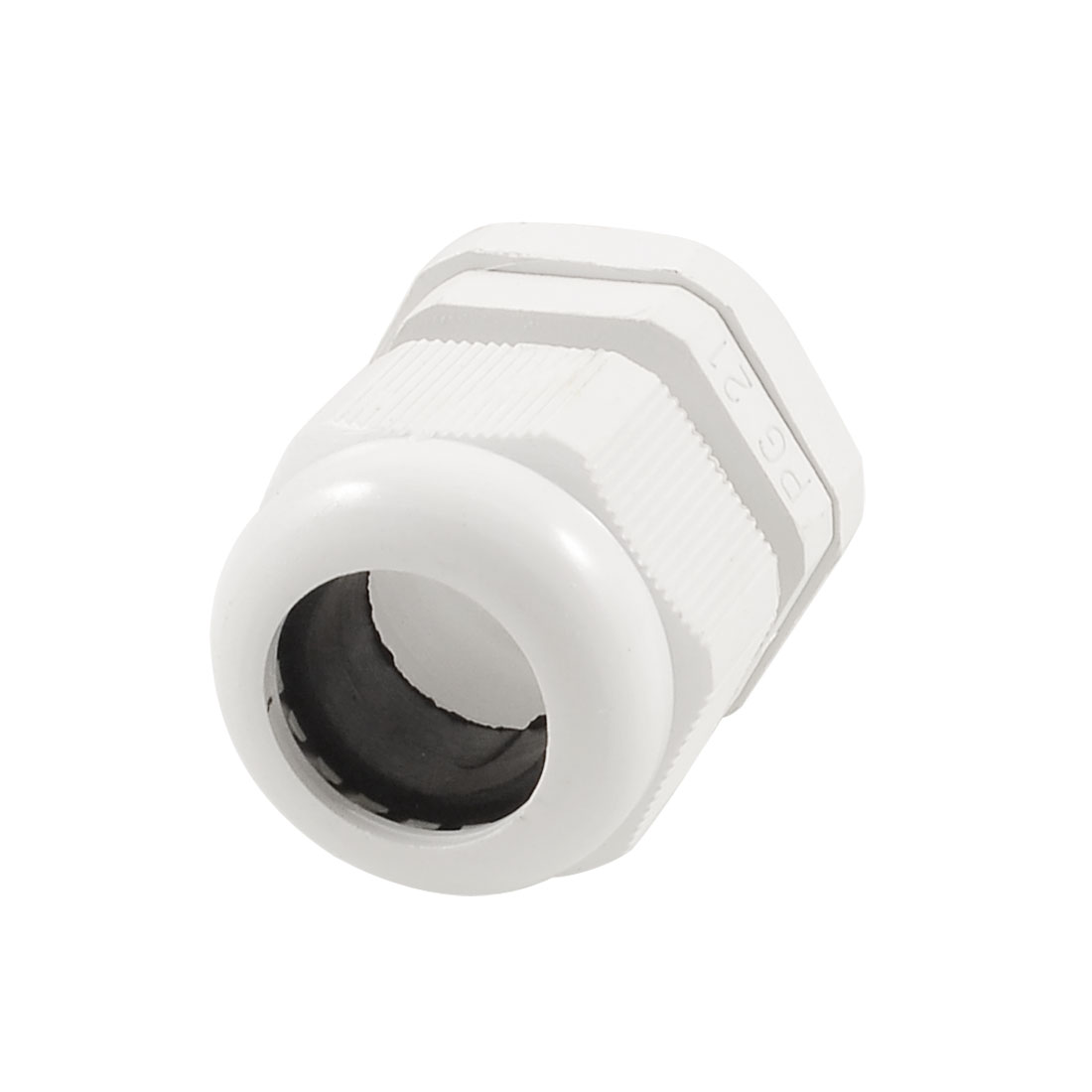 13mm-18mm Cable Range PG21 White Plastic IP67 Waterproof Cable Glands