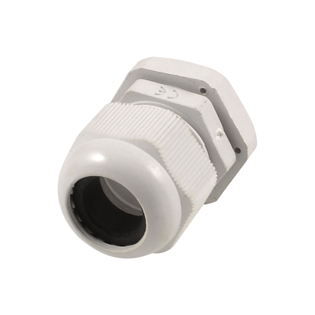 12mm-16mm Cables Waterproof PG18 White Plastic Glands Connectors