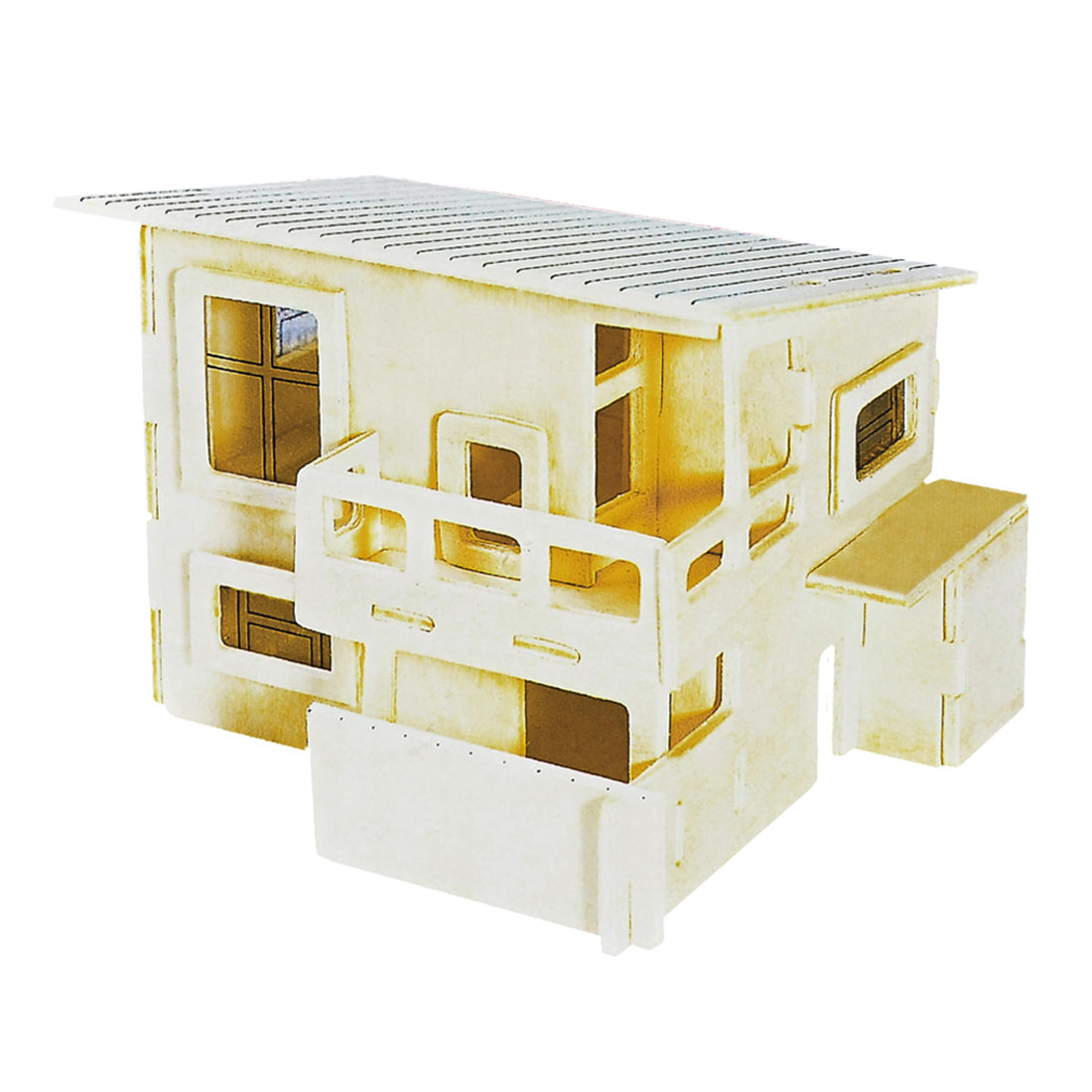 Child 3D Wood Wateitaku Model Woodcraft Construction Kit Puzzle Toy