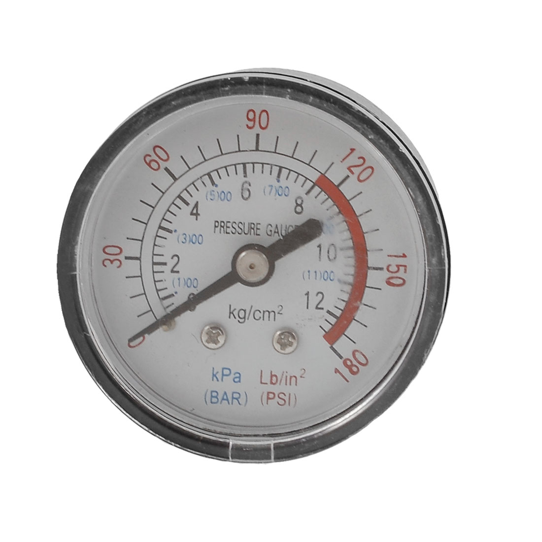 53mm Body 13mm Thread 0-12BAR 0-180PSI Air Gas Pressure Gauge Manometer