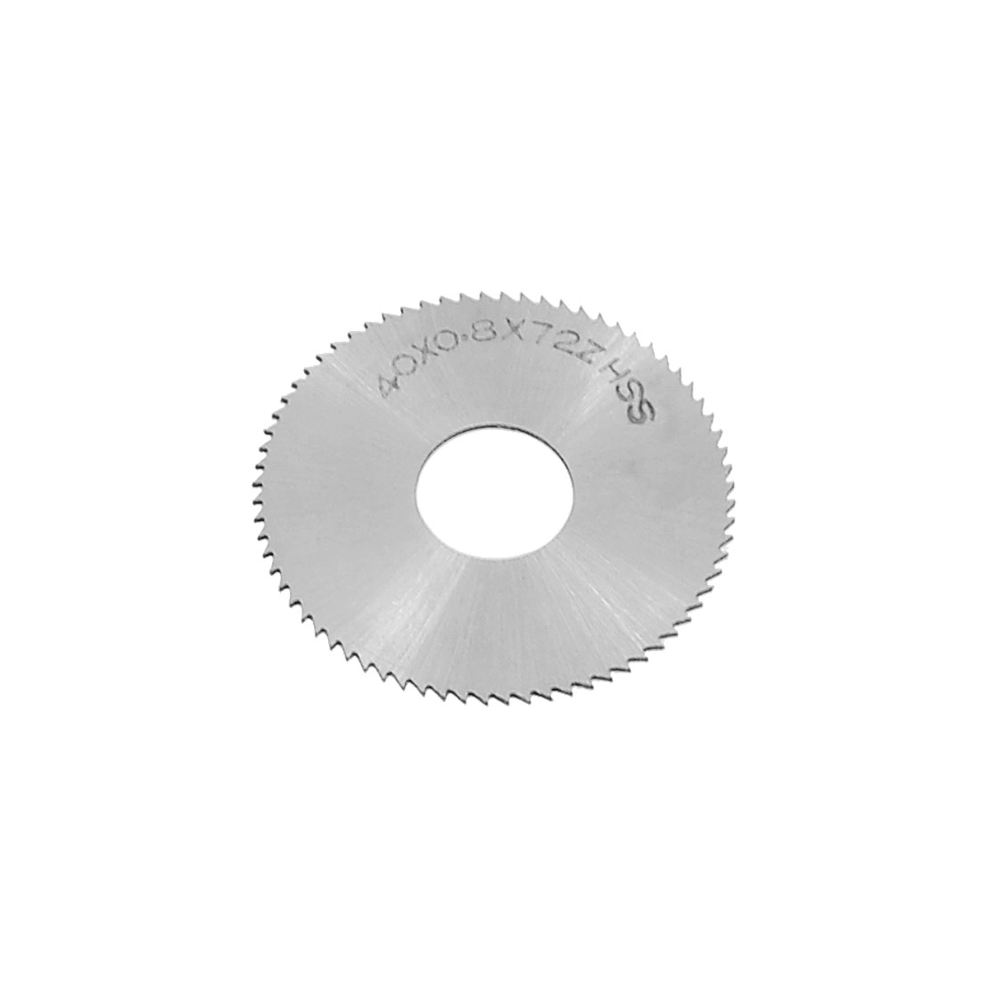 HSS Toothed 40mm x 0.8mm x 13mm 72T Circle Slitting Saw