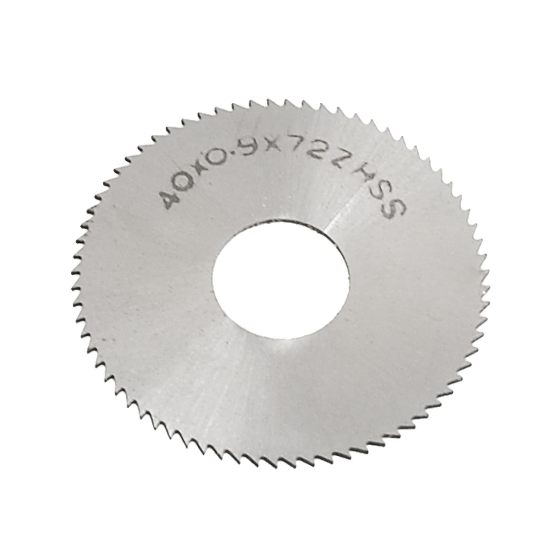 72T Toothed HSS Slitting Saw Cutting Tool 40mm x 0.9mm x 13mm