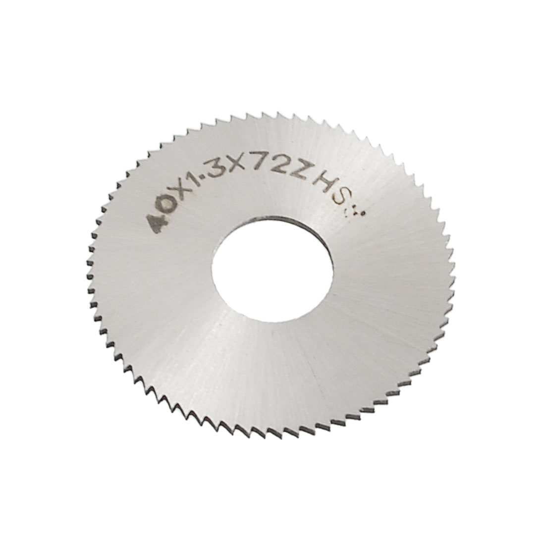 "40mm 1 9/16"" OD 1.3mm Thickness HSS 72T Round Slitting Saw Cutter"