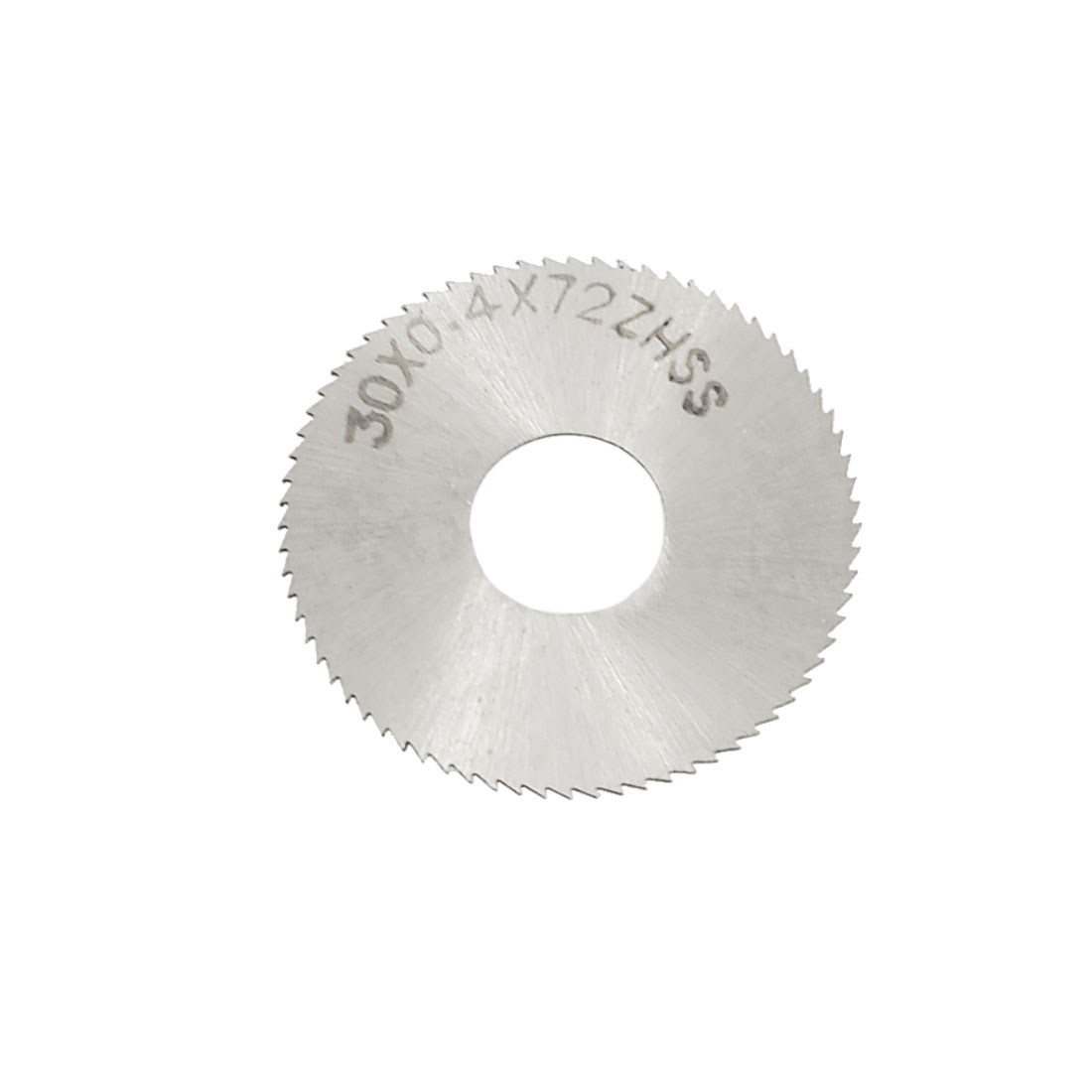 30mm Cutting Dia 0.4mm Thickness Circle 72T Slitting Saw