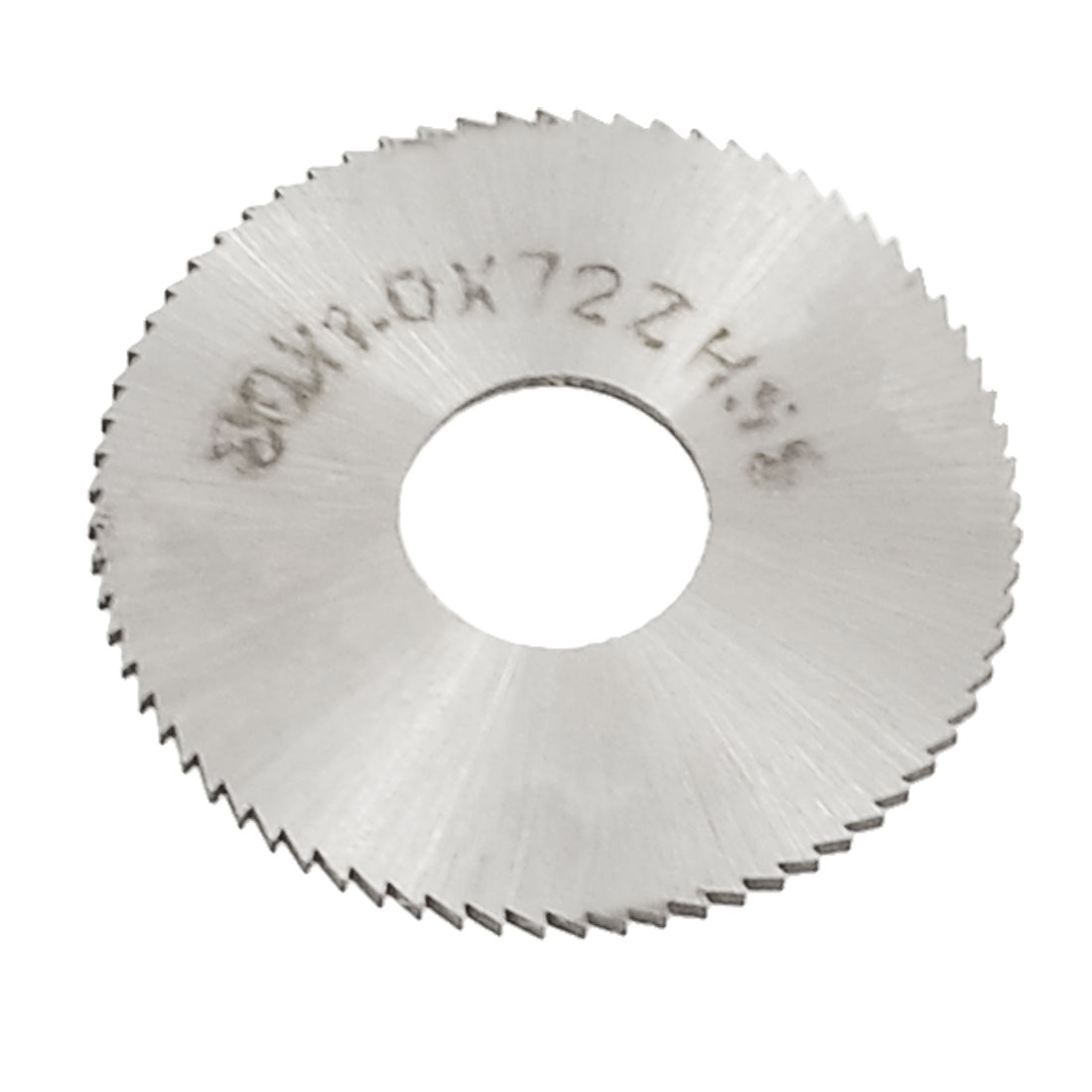 HSS 10mm Hole Dia Toothed 30mm x 1mm 72T Circle Slitting Saw